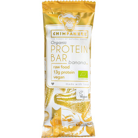 Chimpanzee Organic Protein Bar Box Banane (Vegan) 25 x 45g